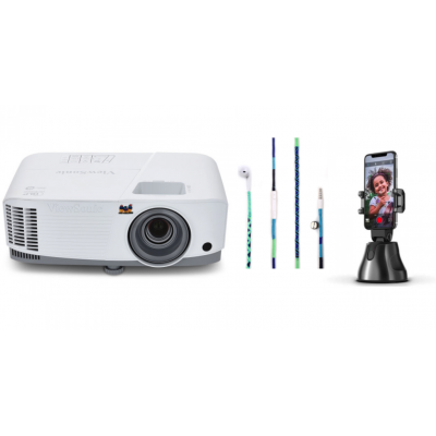 CINEMA BOX 3 | ViewSonicPA503X Projector + Free Apai Genie Robot-Cameraman + Happy-Nes original Apple Earphones