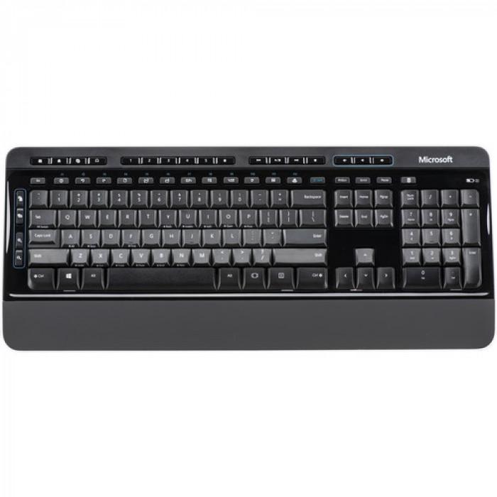 لوحة مفاتيح و فأره لاسلكيان WrlssDsktp3050 مع AES USB Po