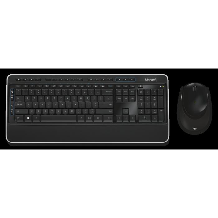 Wireless Desktop 3050 مجموعة كيبورد و ماوسمن مايكروسوفت