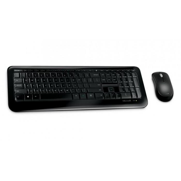لوحة مفاتيح وفأرة لاسلكيان من مايكروسوفت Wireless Desktop 850