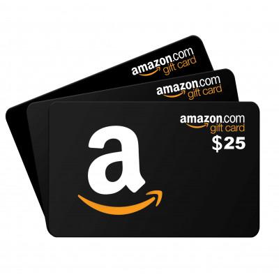 Amazon Card $25
