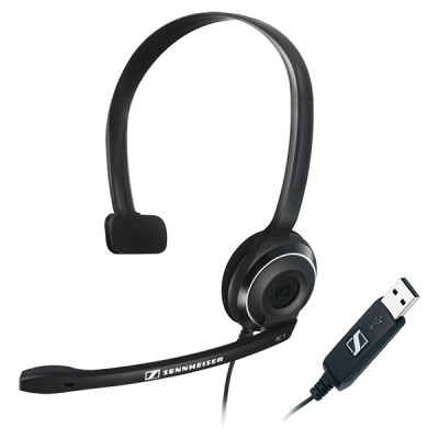 PC 7 USB Sennheiser سماعة الرأس