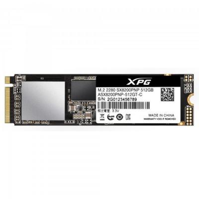 ADATA - XPG SX8200 Pro 512GB PCIe Gen3x4 M.2 NVMe SSD 2280