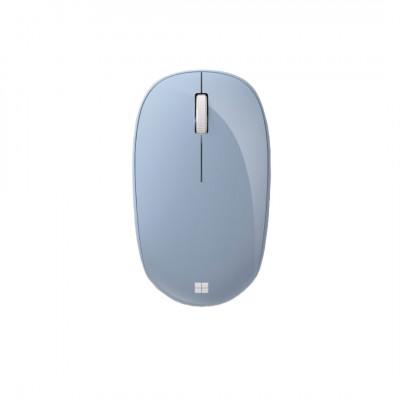 فأرة تحكم لاسلكية من مايكروسوفت أزرق