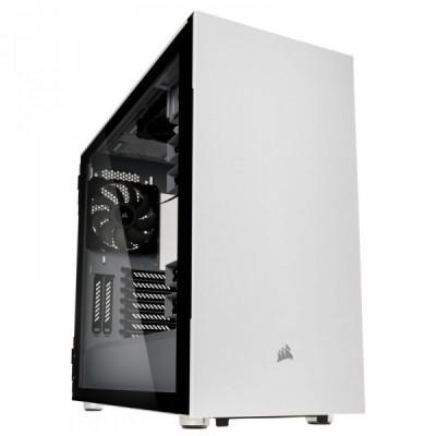 صندوق الكمبيوتر Carbide 678C TG ATX  من كورسير باللون الأبيض