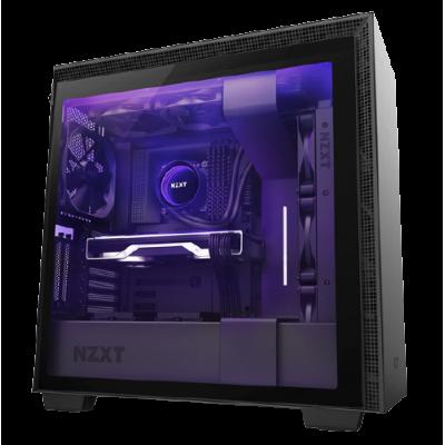 صندوق كمبيوتر ذكي NZXT H710i Mid Tower - أسود