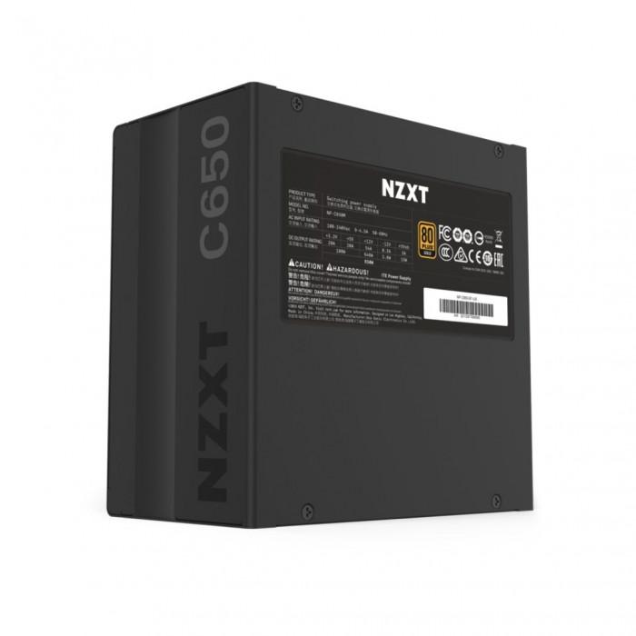 مزود طاقة NZXT  C650 - 650W ATX modular, 80 PLUS Gold