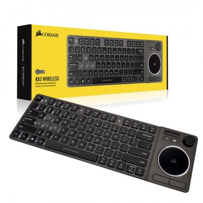 لوحة المفاتيح اللاسلكية للألعاب K83 من كورسير