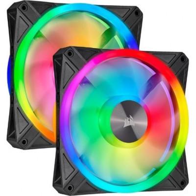 مروحة ثنائية iCUE QL140 RGB PWM من كورسير