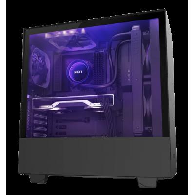 صندوق كمبيوتر H510i Compact Mid Tower  من NZXT أسود