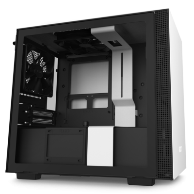 صندوق كمبيوتر NZXT H210 Mini ITX  - أبيض