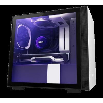 صندوق كمبيوتر NZXT H210i Mini ITX أبيض