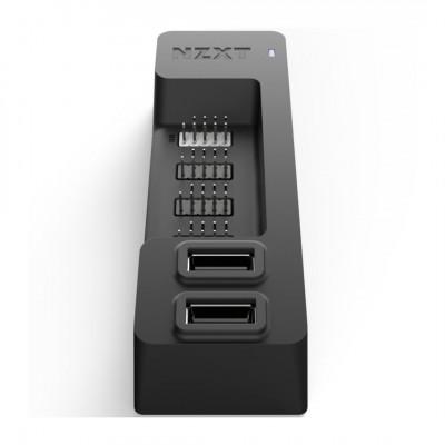 موزع USB داخلي من NZXT - يوسع 5 منافذ USB 2.0 - تصميم أنيق متعدد الوظائف