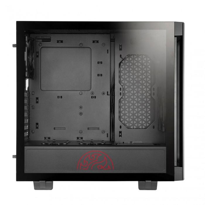 صندوق الكمبيوتر Invader Mid-Tower من اكس بي جي - أسود