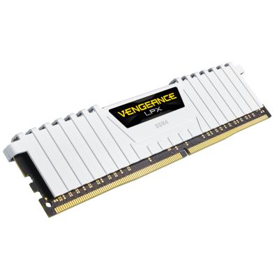 ذاكرة VENGEANCE® LPX 16 جيجابايت (2 × 8 جيجابايت) DDR4 DRAM 3200 ميجاهرتز C16 من كورسير  ابيض / اسود / احمر