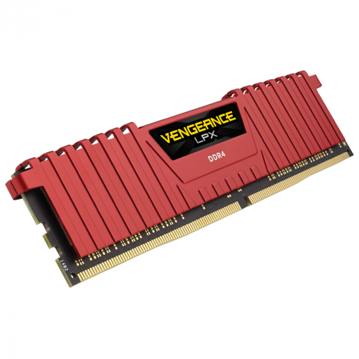 VENGEANCE®LPX16GB (2 x 8GB) DDR4 DRAM 3200MHz C16 Memory Kit -Red