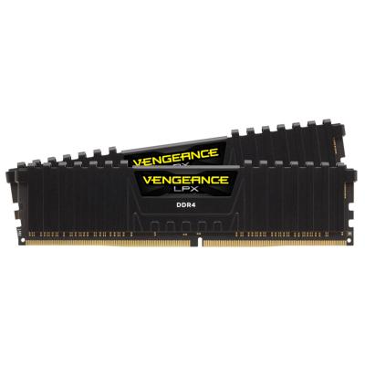 ذاكرة VENGEANCE® LPX 32 جيجابايت (2 × 16 جيجابايت) ذاكرة DDR4 DRAM 3200 ميجاهرتز C16  من كورسير -   أسود