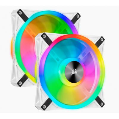 مروحة ثنائية  iCUE QL140 RGB 140mm PWM  من كوسير