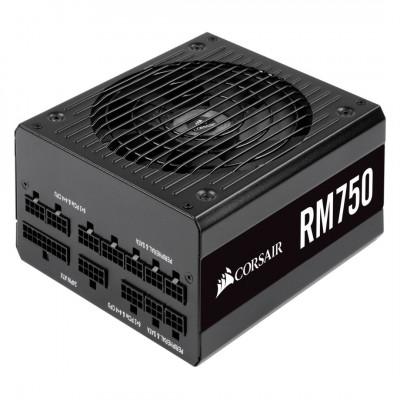 من كورسير RM750 750 Watt 80 PLUS Gold Certified Fully Modular مزود الطاقة