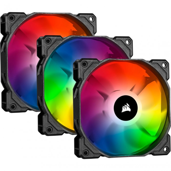 حزمة مراوح iCUE SP120 RGB PRO Performance 120mm من كورسير