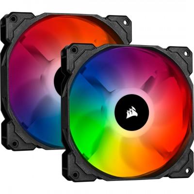 مروحة ثنائية iCUE SP140 RGB PRO Performance 140mm من كورسير