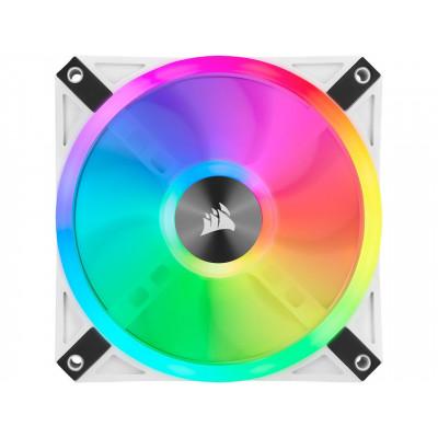 مروحة iCUE QL120 RGB 120mm PWM White من كورسير