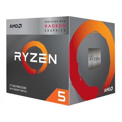 معالج AMD Ryzen 5 3400G 3.7 GHz Quad-Core AM4 من رايزن