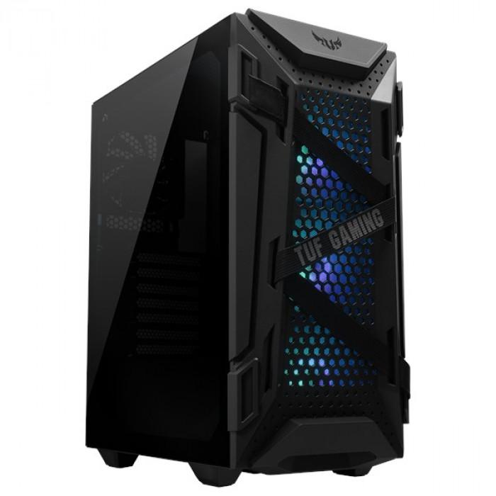 صندوق الكمبيوتر TUF Gaming GT301 ATX mid-tower من أسوس
