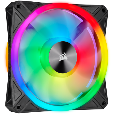 iCUE QL140 RGB 140 ملم  PWM Single Fan من كورسير