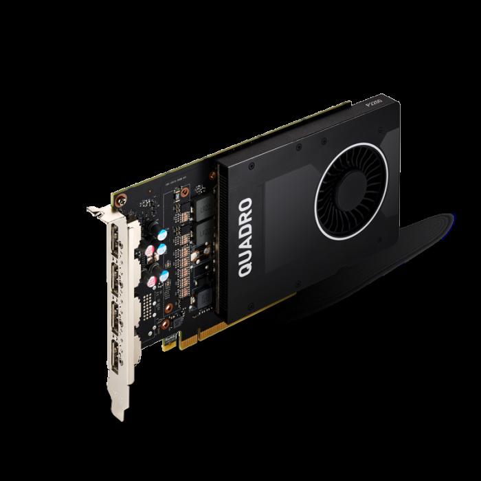 بطاقة رسومات NVIDIA Quadro P2200 5GB PNY