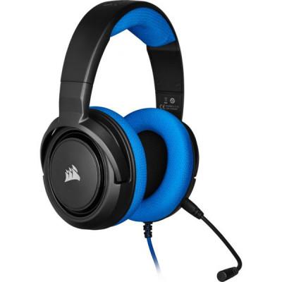 من كورسير سماعة رأس ستريو للألعاب HS35 اسود - أزرق