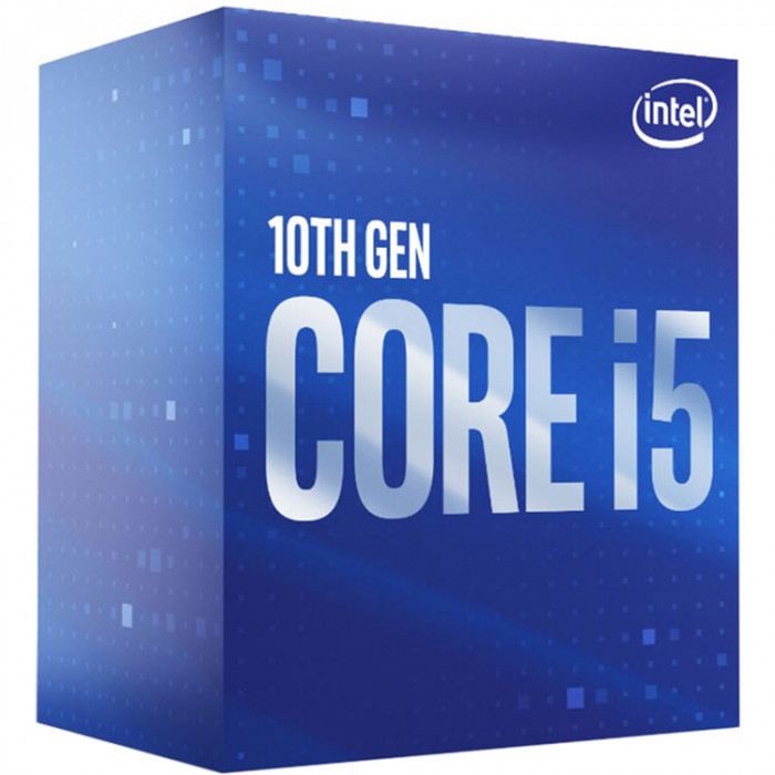 معالج سطح المكتب انتل كورi5-10400  6-كور 2.9 جيجا هرتز LGA 1200 65W انتل UHD جرافيكس 630