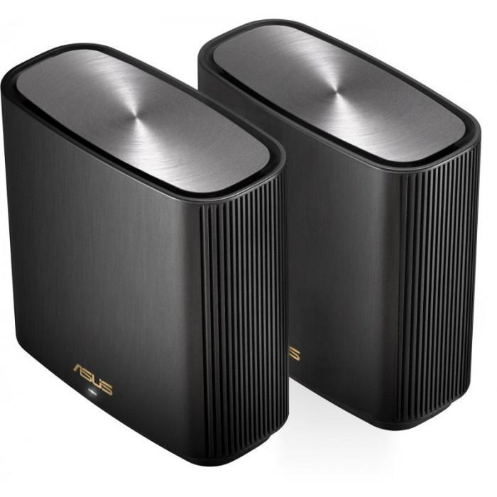 من اسوس جهاز ZenWiFi AX (XT8) راوتر لاسلكي ثلاثي النطاق (2.4 جيجا هرتز / 5 جيجا هرتز / 5 جيجا هرتز) جيجابت إيثرنت - أسود