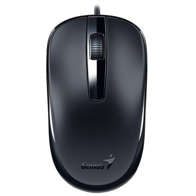 ماوس الكمبيوتر المكتبي DX-120 USB GENIUS اسود