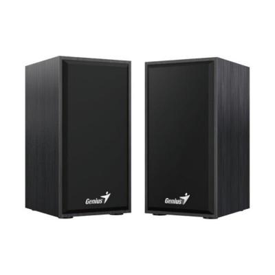مكبرات الصوت 6 SP-HF180  واط USB 2.0  ، جاك 3.5 مم من جينيس – أسود ، خشبي