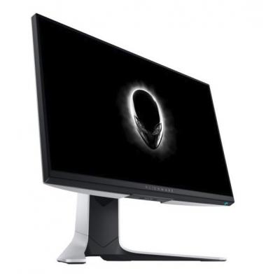 شاشة الألعاب Alienware 25 inch & 240Hz Refresh Rate من ديل ابيض