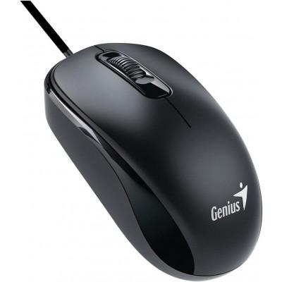 جينيس فأرة USB ضوئية ، أسود