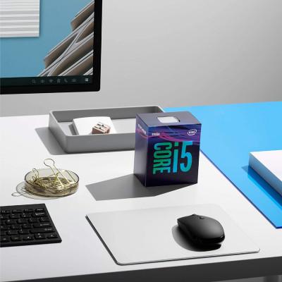 معالج سطح المكتب Intel® Core ™ i5-9400F ، ذاكرة تخزين مؤقت 9 ميجا ، تصل إلى 4.10 جيجا هرتز