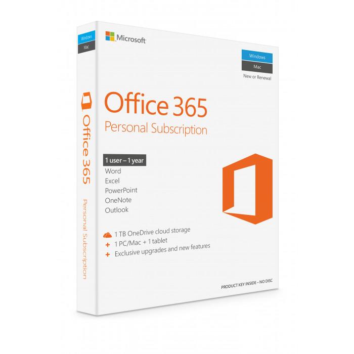 Office 365 Personal الإنجليزي