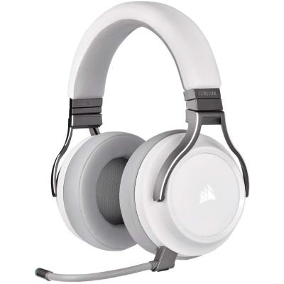 سماعة الألعاب الاسلكيه عالية الدقة من كورسير VIRTUOSO RGB - أبيض