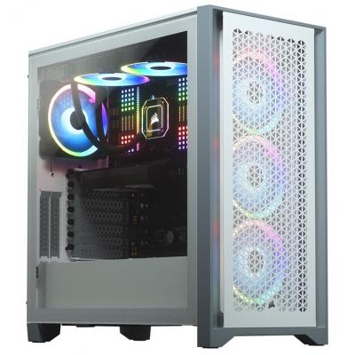 صندوق الكمبيوتر Airflow D4000 كورسير Mid-Tower — ابيض