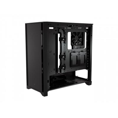 صندوق كمبيوتر Corsair 4000D  أسود فولاذي / بلاستيك / زجاجي ATX Mid Tower