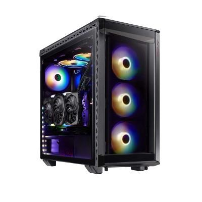 صندوق الكمبيوتر Battlecruiser Super Mid-Tower من اكس بي جي - أسود