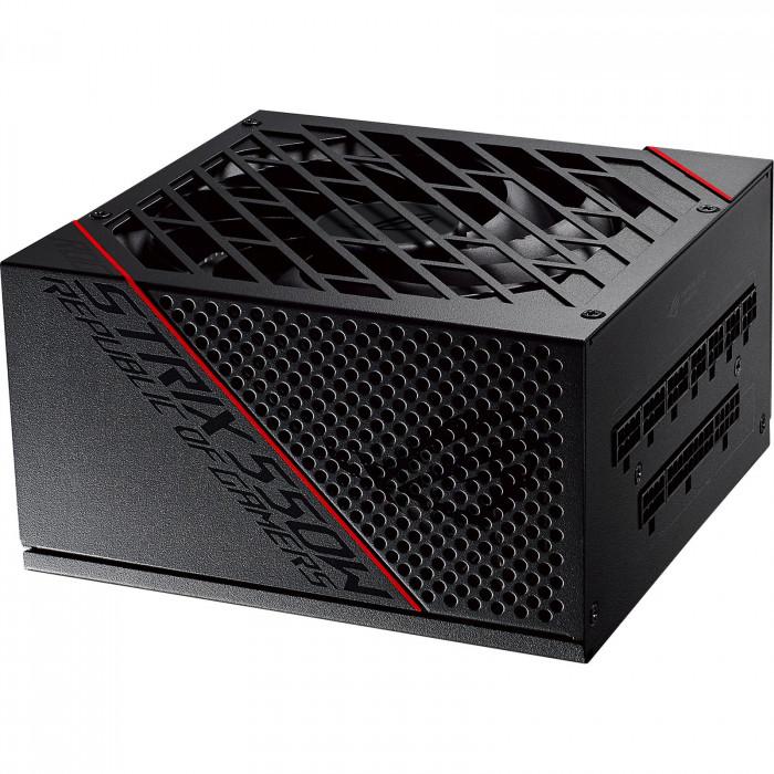 وحدة تزويد الطاقة المعيارية من اسوس ROG Strix 550 واط  80+ Gold PSU