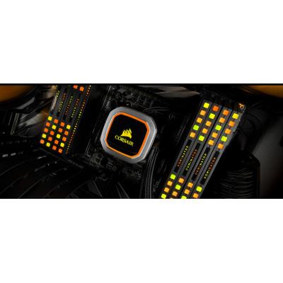 ذاكرة عشوائية DOMINATOR® PLATINUM RGB 16GB (2 x 8GB) DDR4 DRAM 3200MHz C16 أسود من كورسير