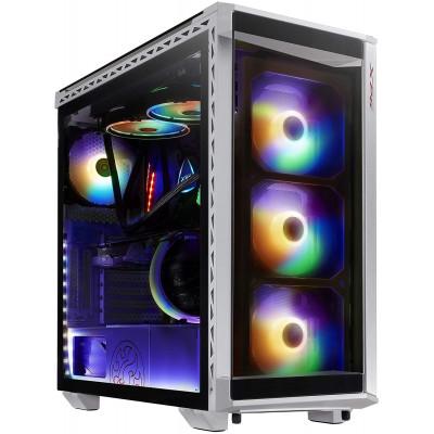صندوق الكمبيوتر Battlecruiser Super Mid-Tower من اكس بي جي - أبيض