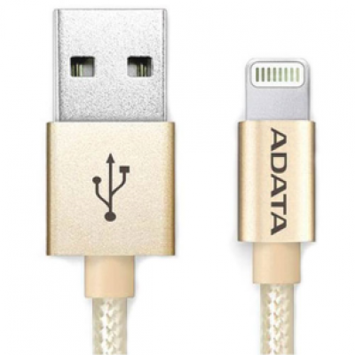 ADATA Apple Sync & Charge Lightning cable Gold 1 Meter