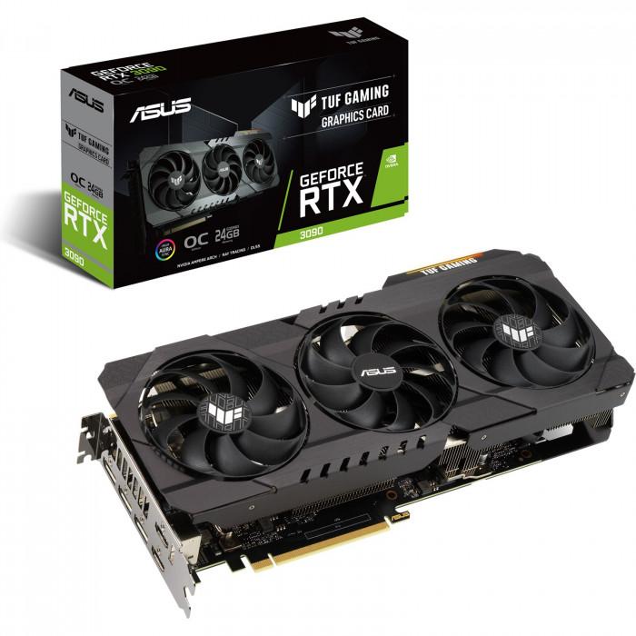 ASUS GeForce RTX 3090 TUF 24GB OC GPU