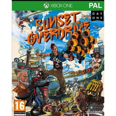 لعبة (Sunset Overdrive) -عربي، Xbox One : English
