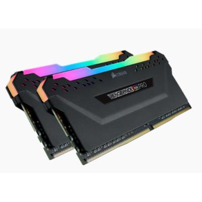 ذاكرة VENGEANCE® RGB PRO 32GB (2 x 16GB) DDR4 DRAM 3600MHz C18 Memory Kit — اسود